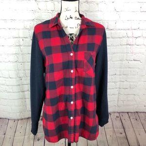 Betabrand The Lumberjill flannel shirt